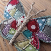 Textile-Butterfly